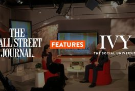 Wall Street Journal Features IVY: The Social University