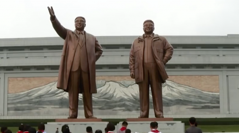 North Korean Statue